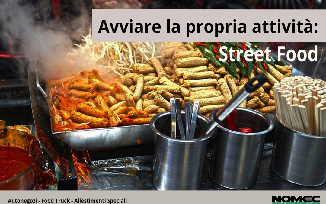 Avviare la propria attività: Street Food