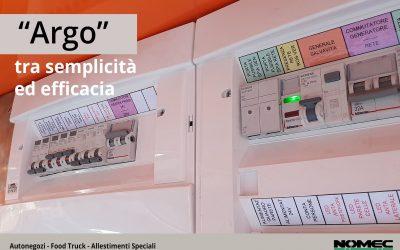 """Sistema """"Argo"""" – L'allestimento elettrico semplice ed efficace"""