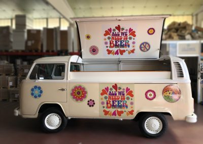 Food Truck Bar su Volskwagen T2