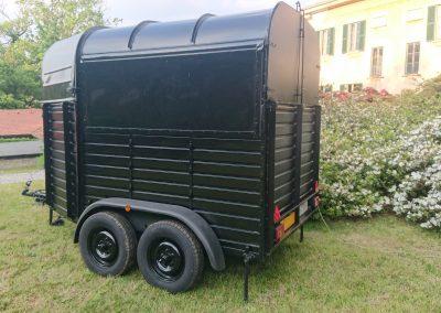Food truck bar realizzato su mezzo trasporto cavalli - Nomec - 3