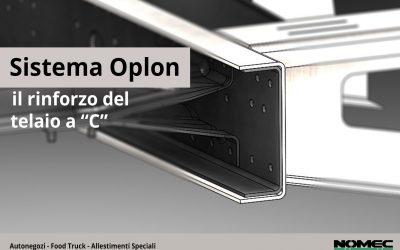 """Sistema Oplon, il rinforzo del telaio a """"C"""""""