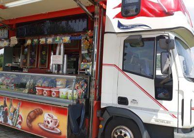 Food Truck – Iveco 120 EL. 22 F.P. con cabina letto