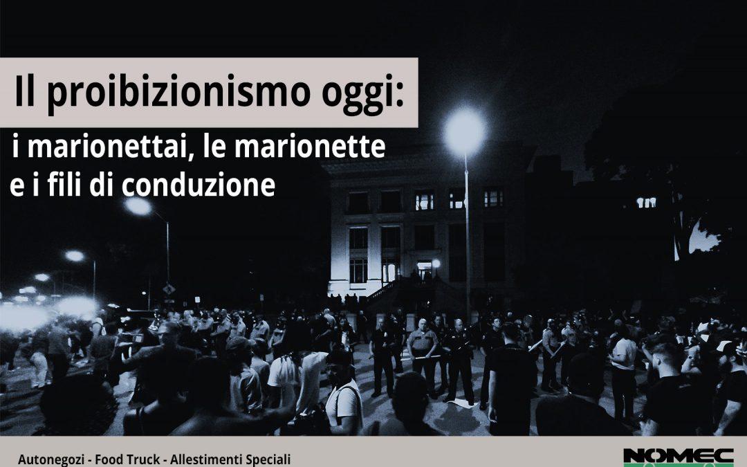 """Il """"Proibizionismo"""" degli ambulanti: i marionettai, le marionette e i fili di conduzione"""