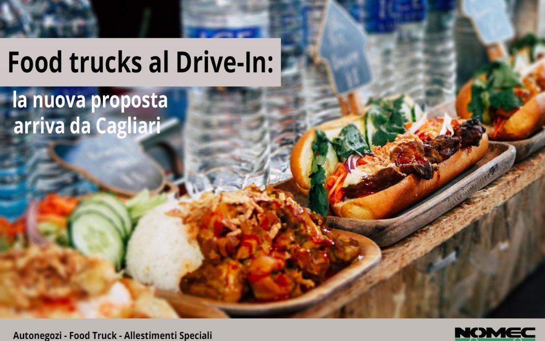 Il Drive-In di Cagliari: quando i food truck sostituiscono i film